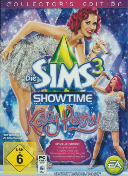 Die Sims 3 - Showtime Katy Perry Collector's Edition (Add-On)