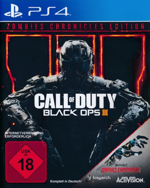 Call of Duty 12 - Black Ops 3 + Zombies Chronicles Edition