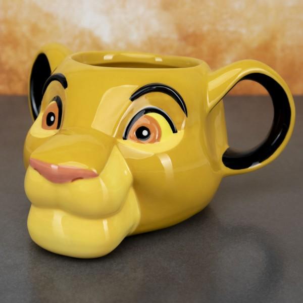 Tasse Disney König der Löwen - Simba 3D