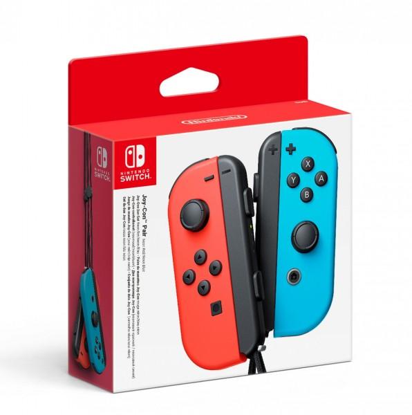 Nintendo Switch - Controller Joy-Con Neon-Rot / Neon-Blau (2er-Set) - ZB-Nintendo Switch