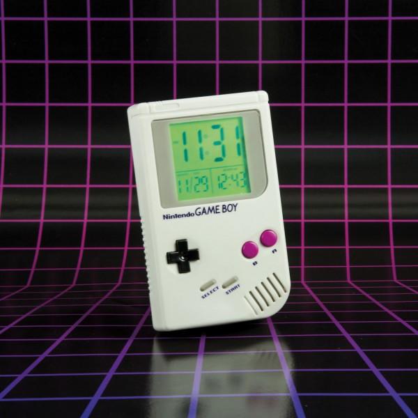 Wecker - Game Boy (mit LED Anzeige)