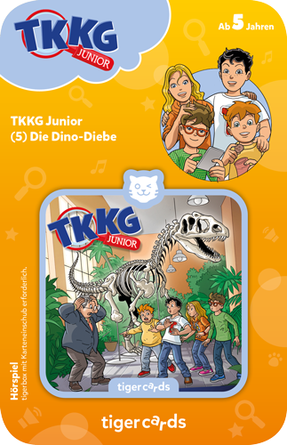 tigercard - TKKG Junior (5): Dino-Diebe