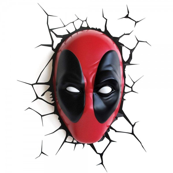 Lampe Marvel Deadpool Head 3D
