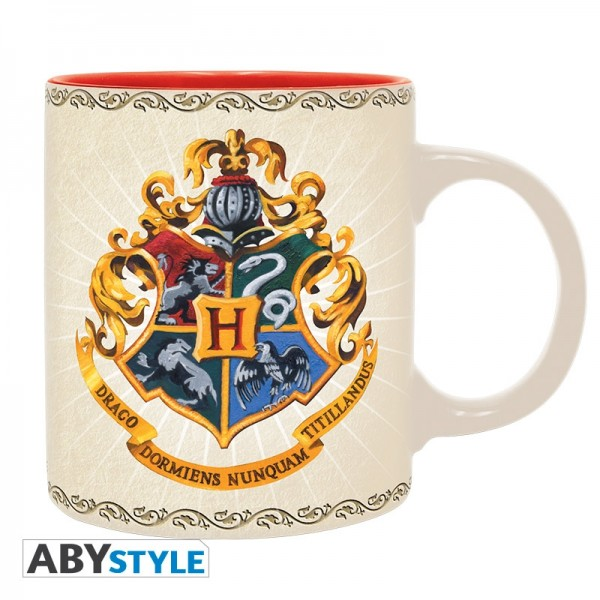 ABYstyle - Harry Potter - Tasse - 320 ml - Hogwarts 4 Häuser