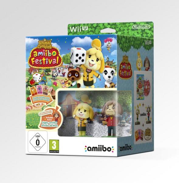 Animal Crossing: amiibo Festival + 2 amiibo-Figuren + 3 amiibo-Karten