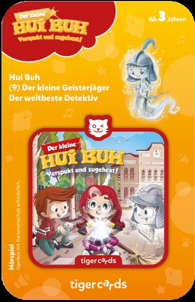 tigercard - Der kleine Hui Buh (9): Der kleine Geisterjäger / Der weltbeste Detektiv