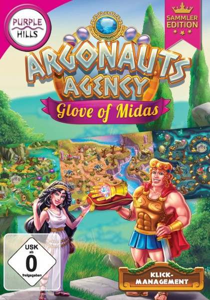 Purple Hills - Argonauts Agency 3+4: Glove of Midas (Sammleredition)