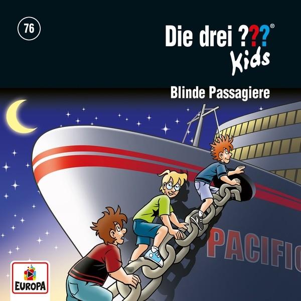 Die drei ??? Kids - 076/Blinde Passagiere