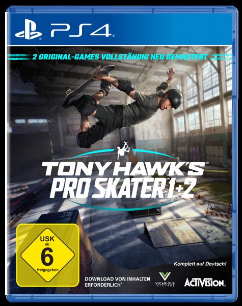 TONY HAWK´S PRO SKATER 1+2 INKL SKATEBOARD - Konsole PS4