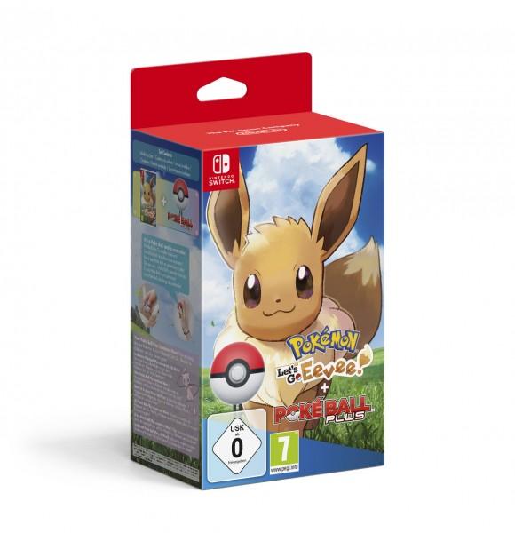 Pokemon - Let's Go, Evoli! + Pokeball Plus
