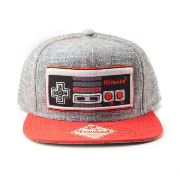 Cap Nintendo NES Controller Flat Bill