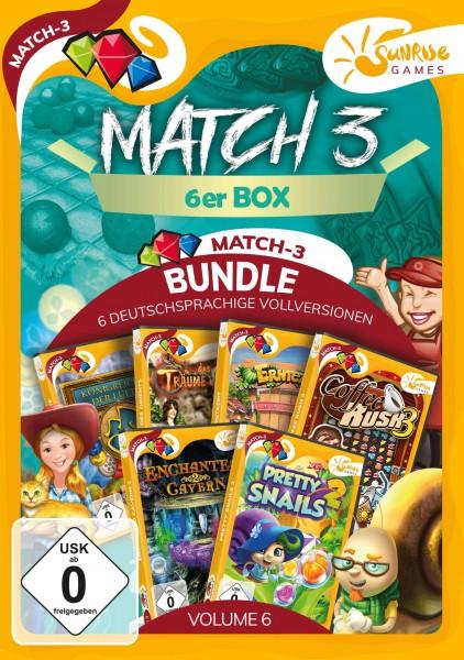 Sunrise Games - MATCH 3 6ER BOX 6