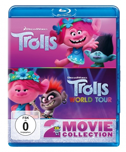 Trolls & Trolls World Tour-2-Movie Collection