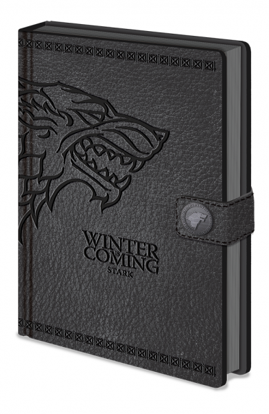 Notizbuch Game of Thrones (Stark) A5 PREMIUM