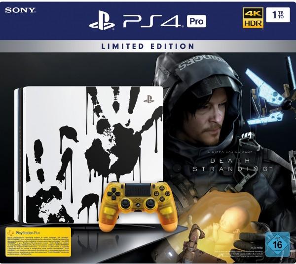PS4 PRO 1 TB (schwarz) inkl. Death Stranding