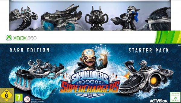 Skylanders Superchargers - Starter Set (Dark Edition)
