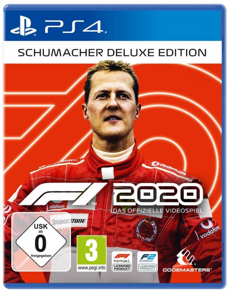 F1 2020 - Das offizielle Videospiel (Schumacher Deluxe Edition)