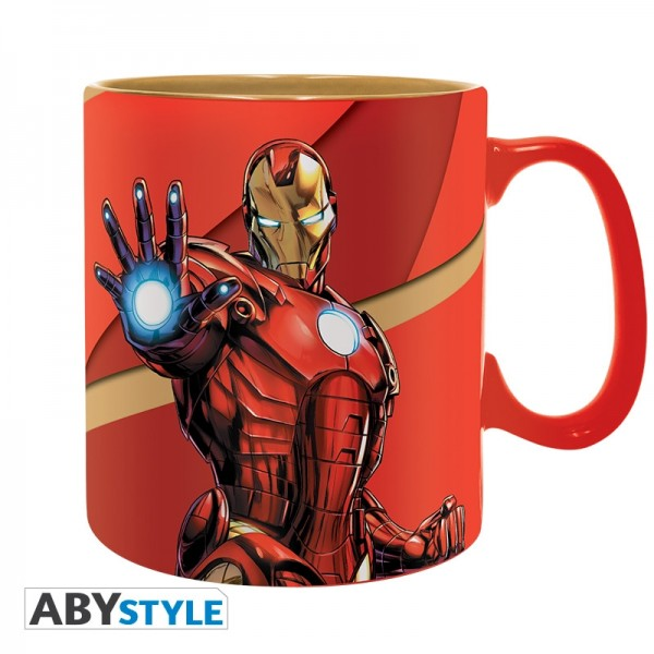Tasse Marvel Iron Man Armored, 460 ml