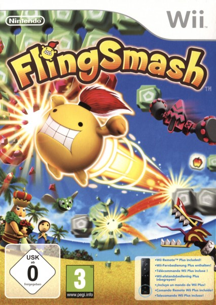 FlingSmash + Remote Plus Controller Black