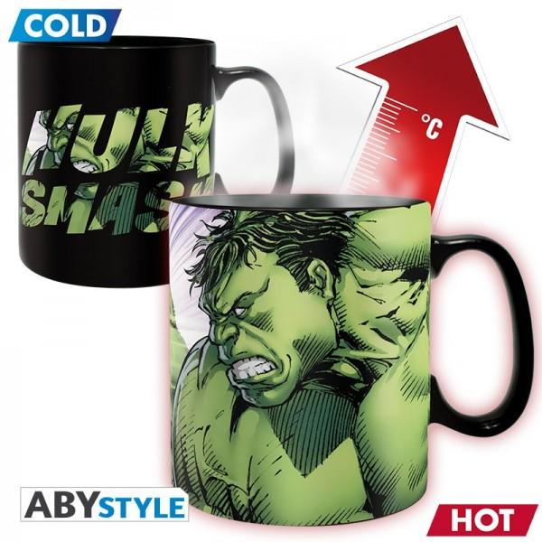 Tasse Thermo Marvel Hulk Smash, 460 ml