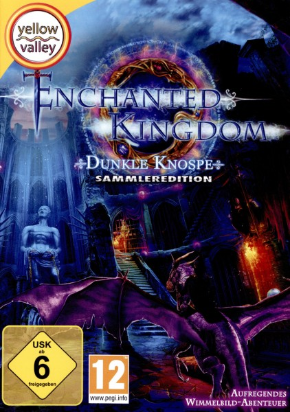 Purple Hills - Enchanted Kingdom - Dunkle Knospe