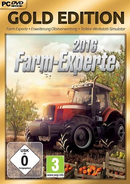 Farm-Experte 2016 - Gold Edition - CD-ROM DVDBox