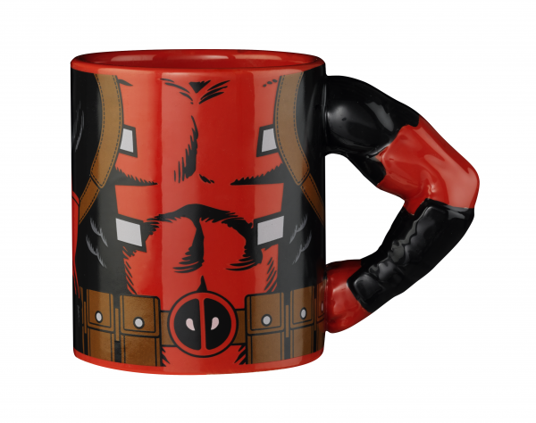 Tasse 3D Arm Deadpool