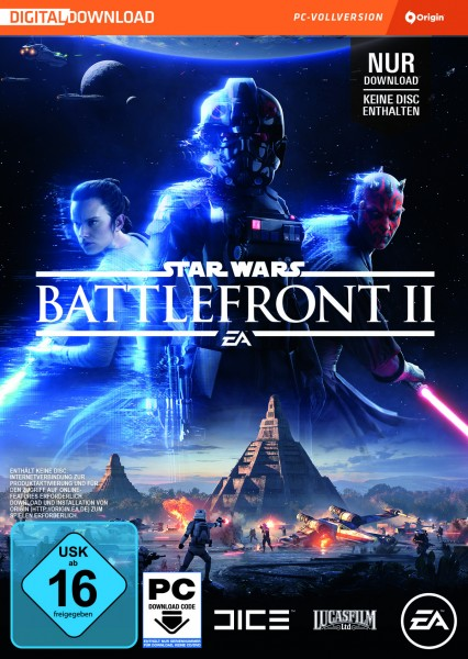 Star Wars Battlefront 2 (code in a box)