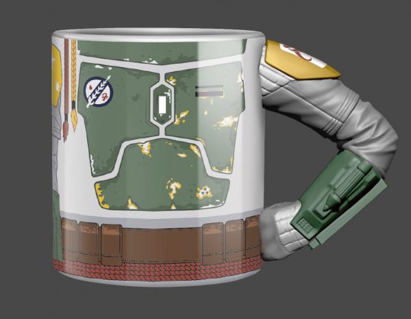 Tasse 3D Arm Boba Fett