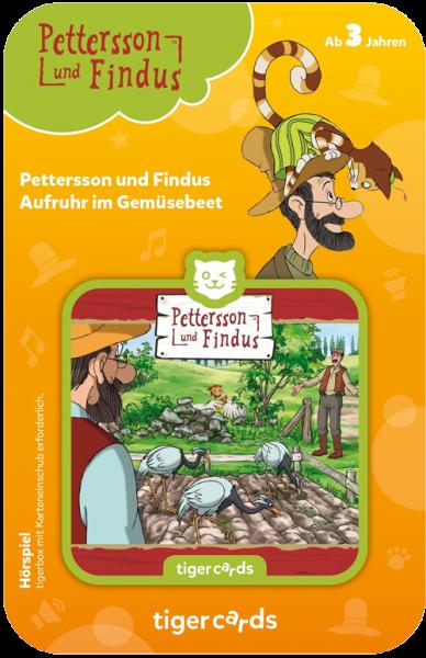 tigercard - Pettersson & Findus (3): Aufruhr im Gemüsebeet