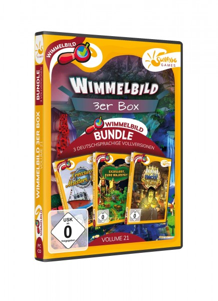 Sunrise Games - Wimmelbild 3er Bundle 21