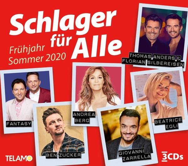 Schlager für Alle:Frühling/Sommer 2020