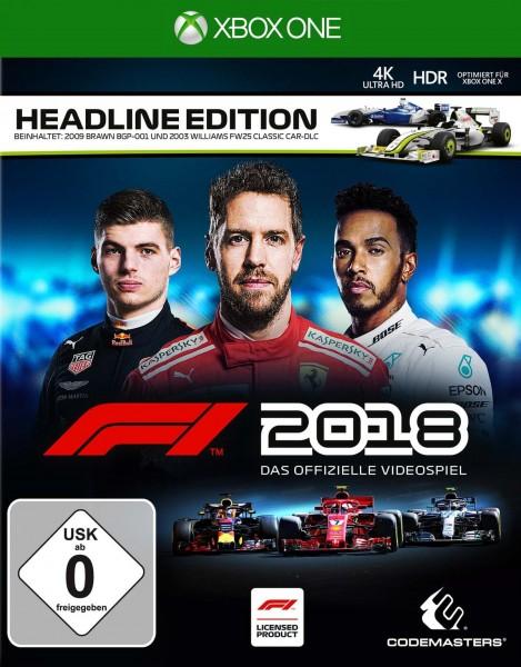 F1 2018 (Headline Edition)