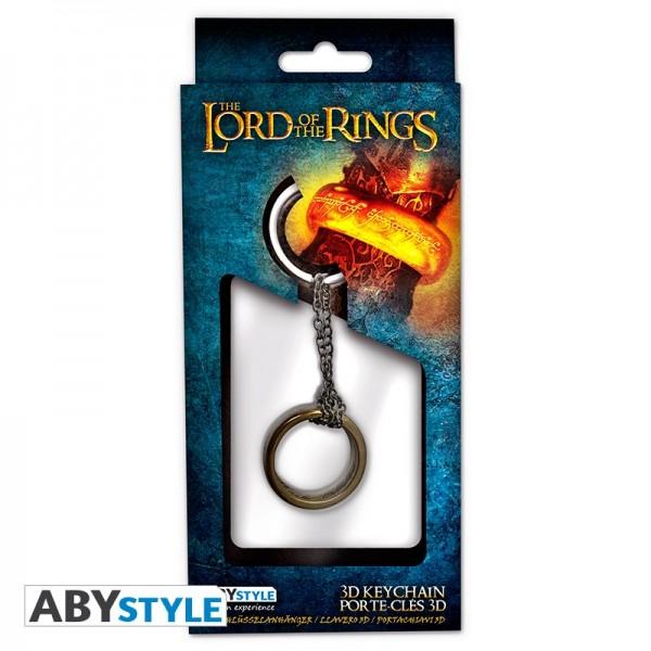 Schlüsselanhänger Herr der Ringe 3D (Ring)