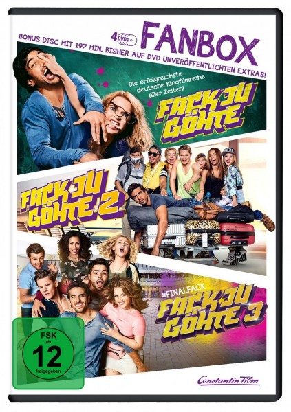 Fack Ju Göhte 1-3 - Fan Box (inkl. Bonus-Disc)