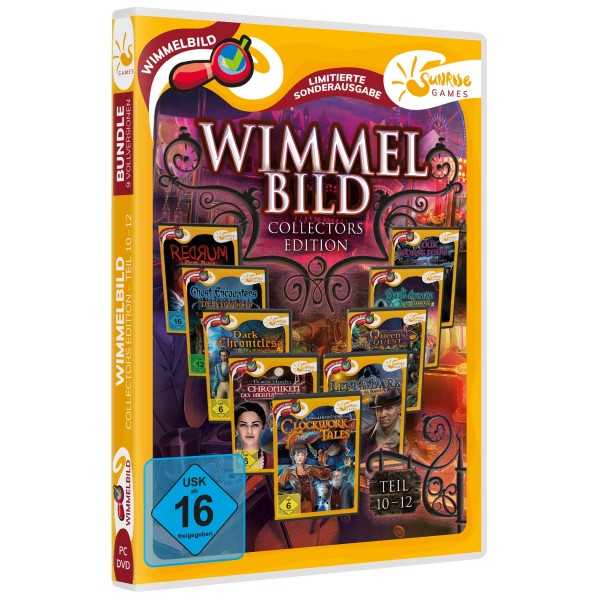 Sunrise Games: Wimmelbild Collectors Edition 10-12
