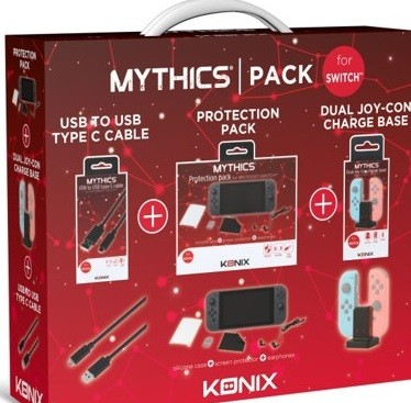 Konix Mythics Accessories Pack