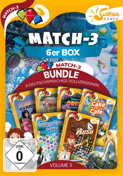 Sunrise Games - MATCH 3 6ER BOX 3