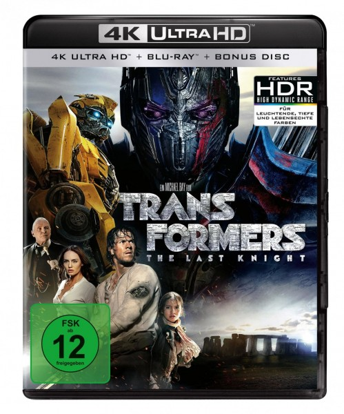 Transformers 5 - The Last Knight (4K Ultra HD) (+ Blu-ray) (+ Bonus-Disc)
