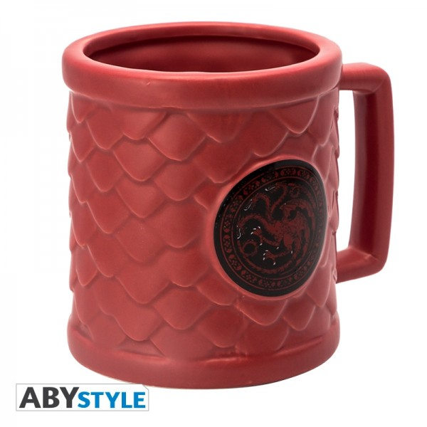 Tasse Game of Thrones - Targaryen 3D