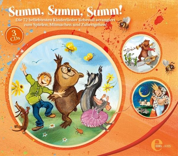 Summ,Summ,Summ - Kinderliederbox
