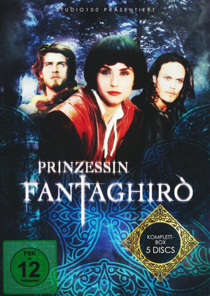 Prinzessin Fantaghirò - Komplettbox [5 DVDs]