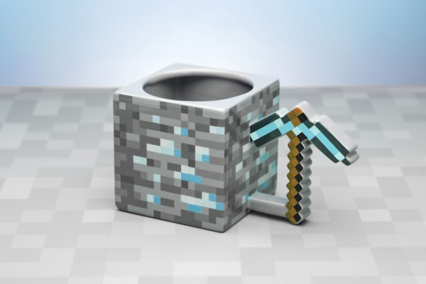 Tasse Minecraft Pickaxe 3D