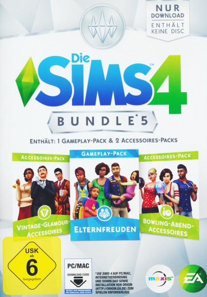 Die Sims 4 Bundle Pack 5 (Code in a box)