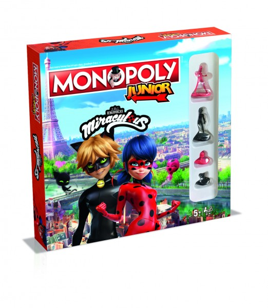 Monopoly Junior - Miraculous Lady Bug & Cat Noir