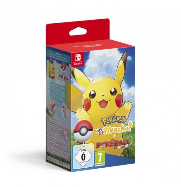 Pokemon - Let's Go, Pikachu! + Pokeball Plus