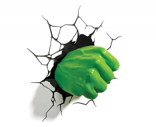 Lampe Marvel Hulk Fist 3D