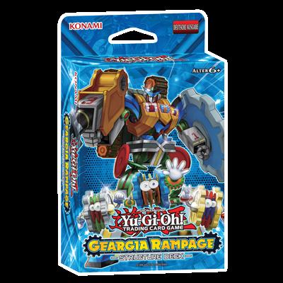 YU-GI-OH! STRUCTURE DECK - GEARGIA RAMPAGE