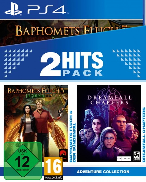 2 Hits Pack - Baphomets Fluch 5: Der Sündenfall + Dreamfall Chapters