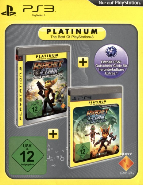 Ratchet & Clank Twin Pack - A Crack in Time & Tools of Destruction [PLA]